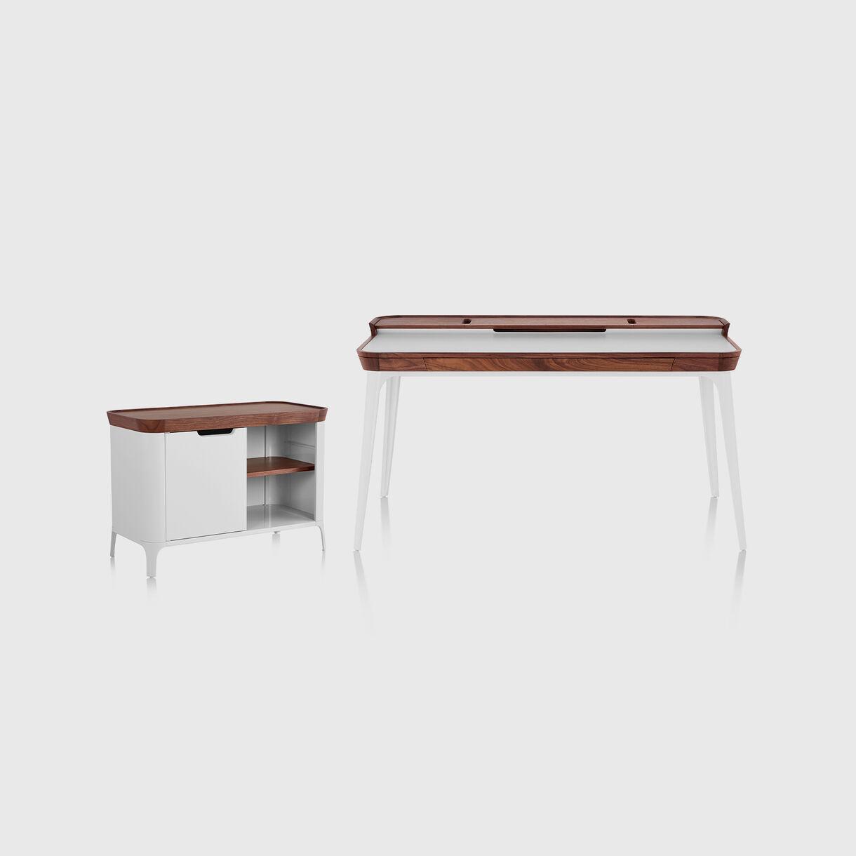 Airia Desk & Cabinet