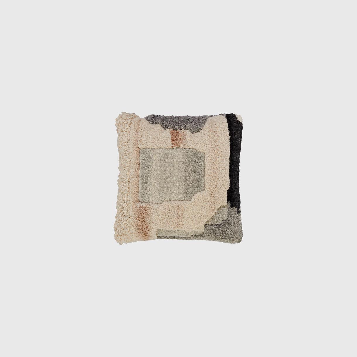Abstract Cushion, Natural
