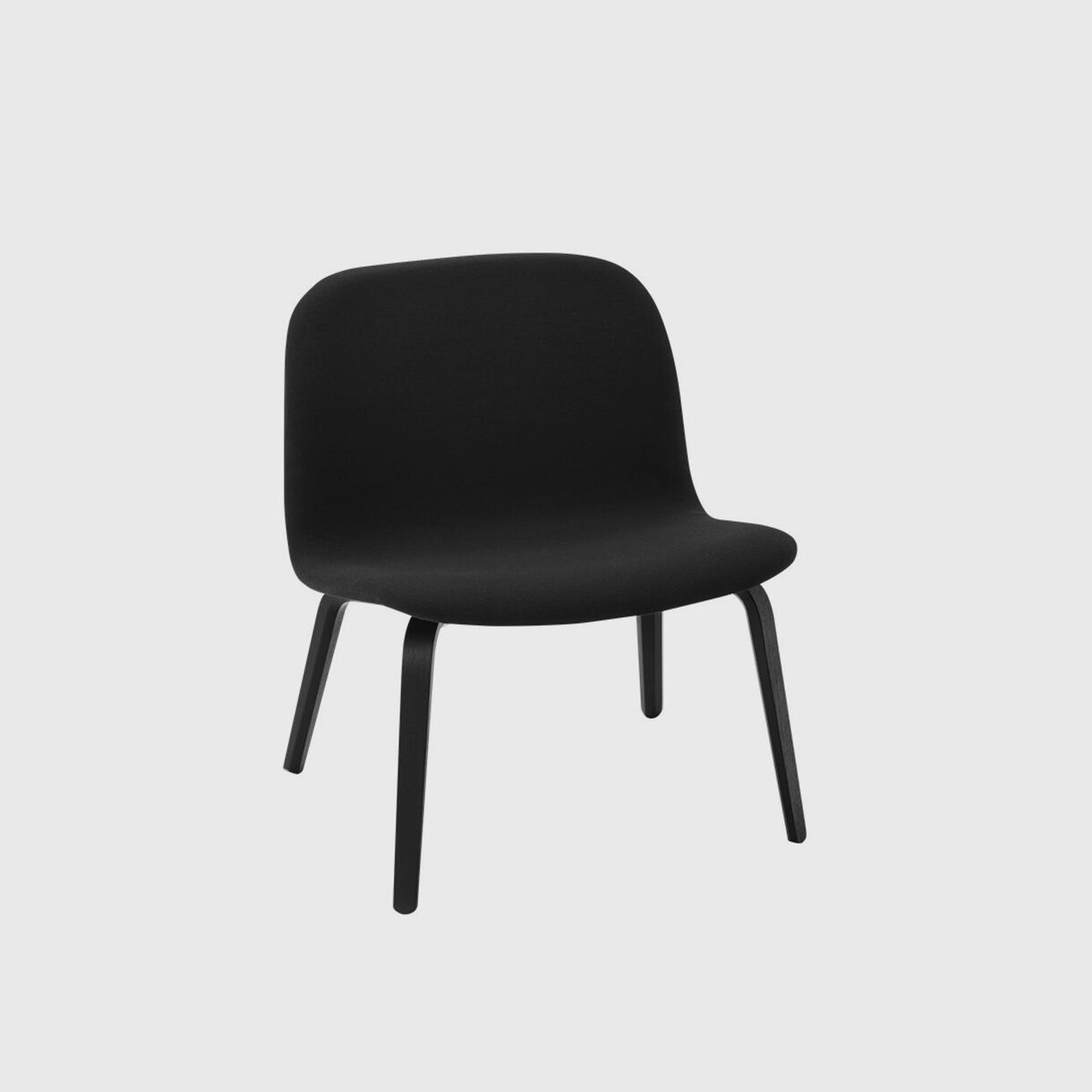 Visu Lounge Chair Upholstered, Steelcut 190