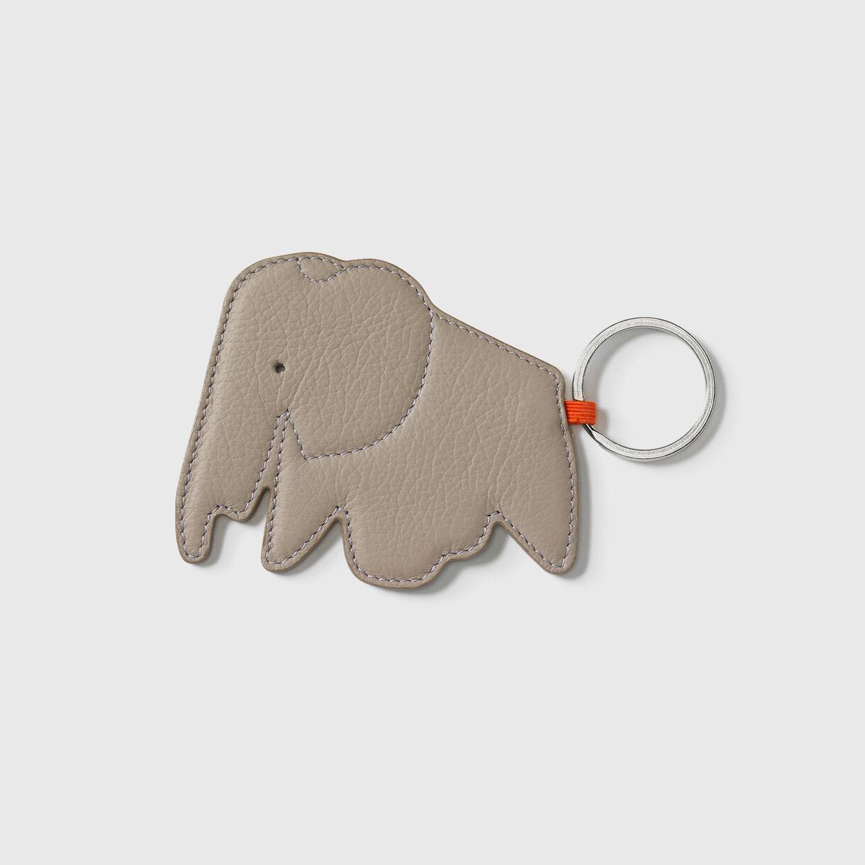 Elephant Key Ring, Sand
