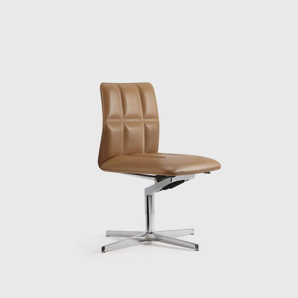 Leadchair Management, Low Back, Tan