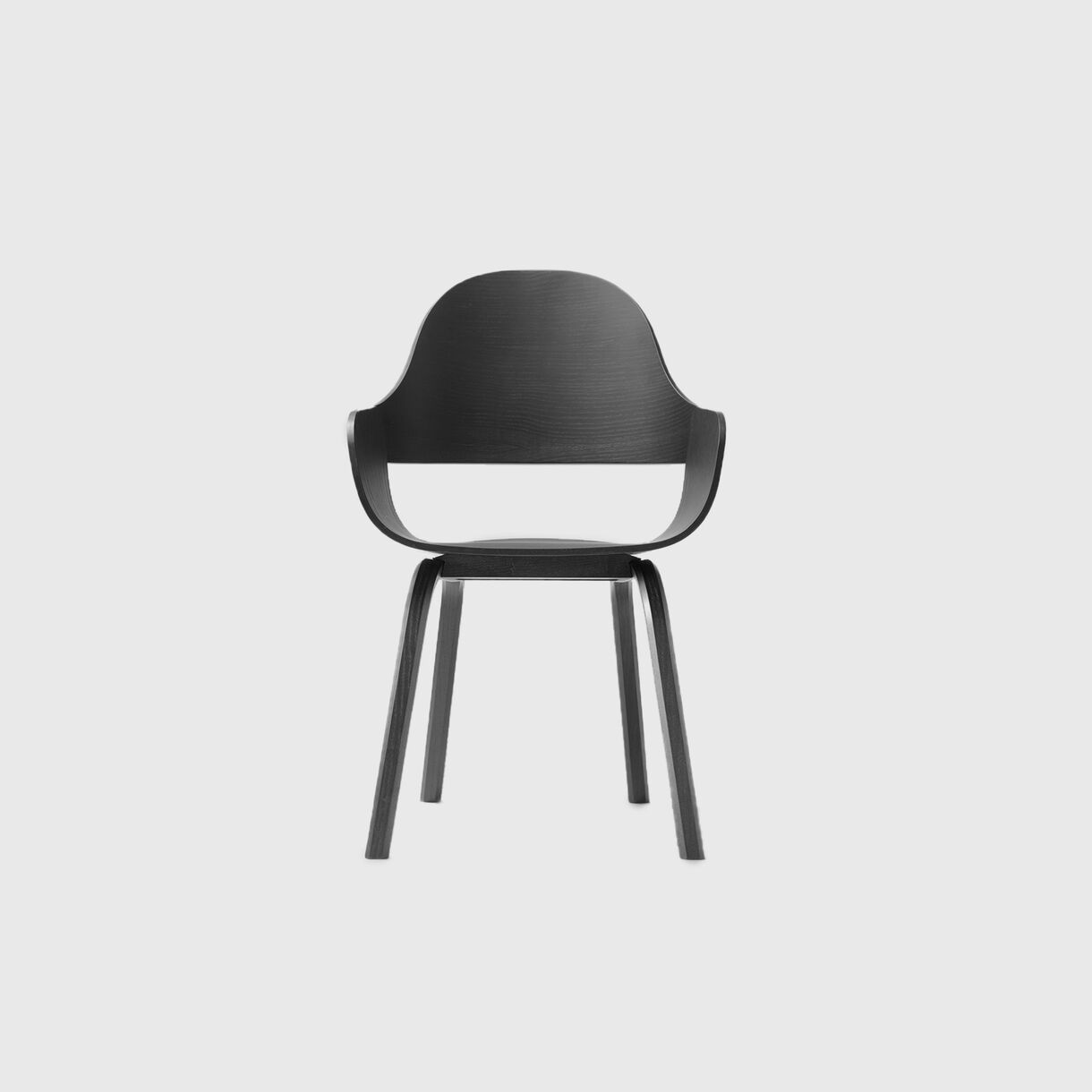 Showtime Nude Chair, Wood Base
