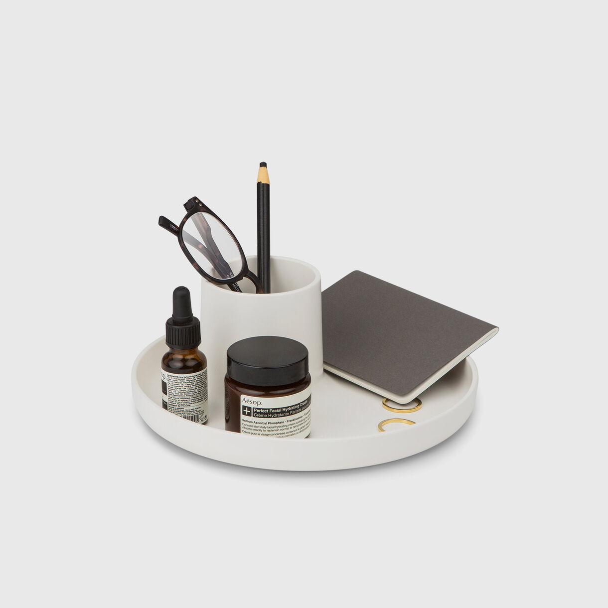 O-Tidy, White with Items