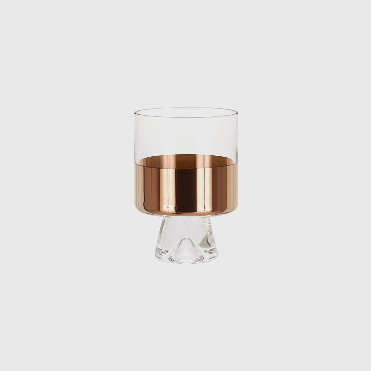 Tank Low Ball Glass, Copper