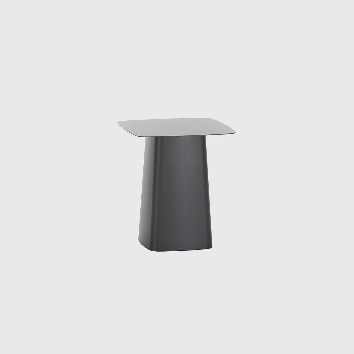 Metal Side Table, Medium, Dim Grey