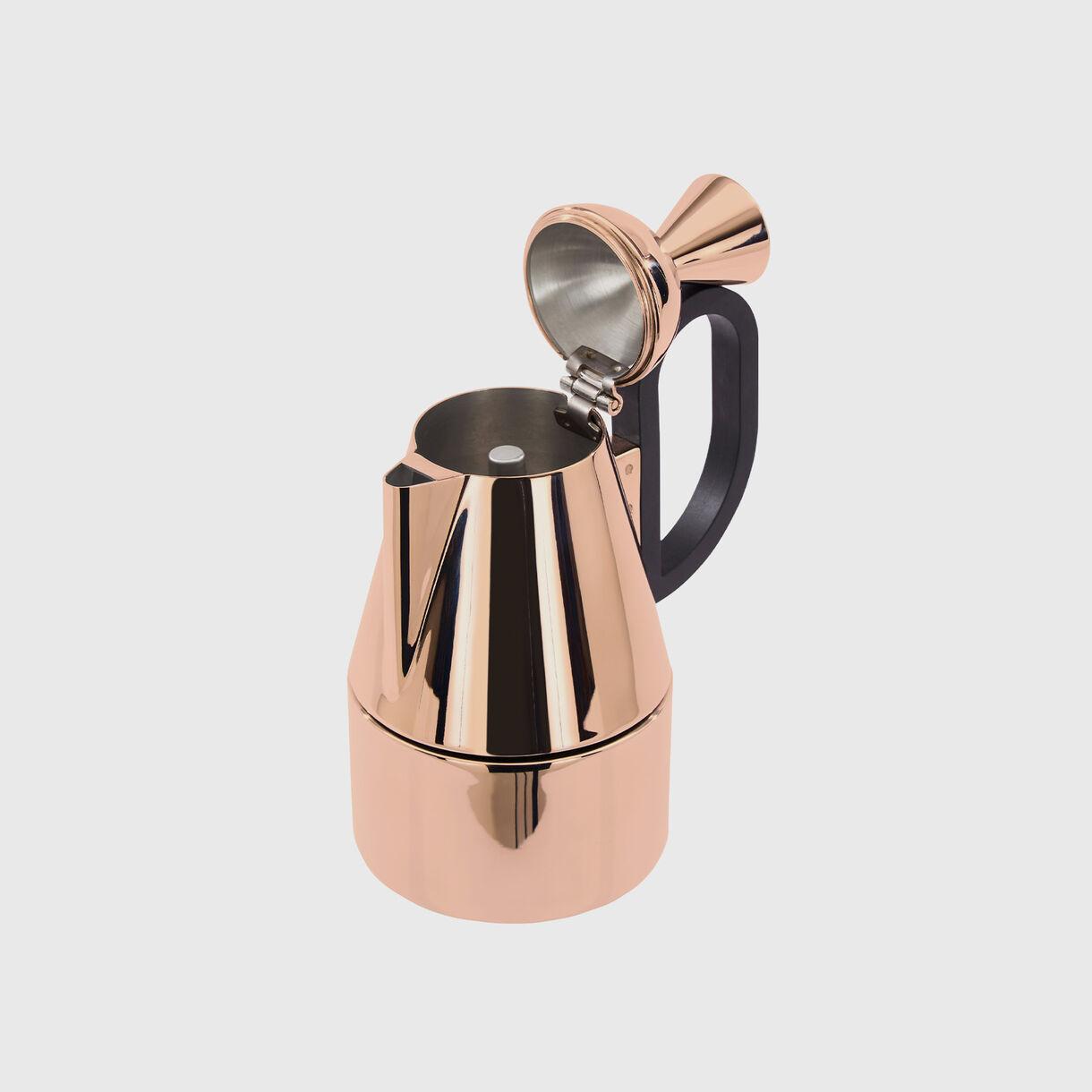 Brew Stove Top Coffee Maker, Copper