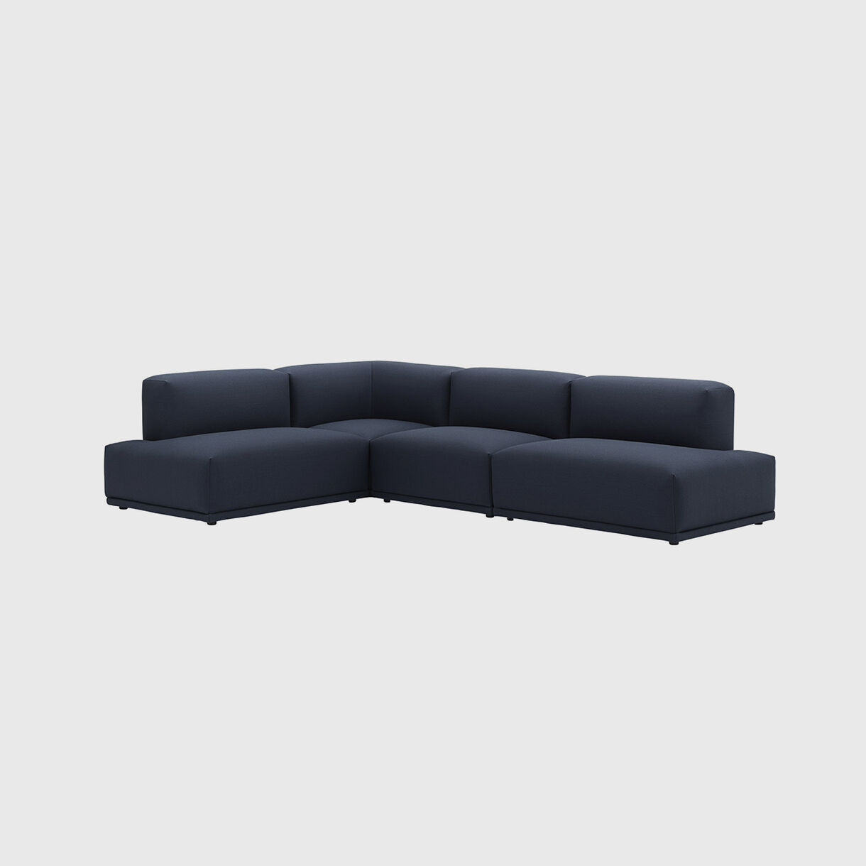 Connect Modular Corner Sofa, Steelcut Trio 796