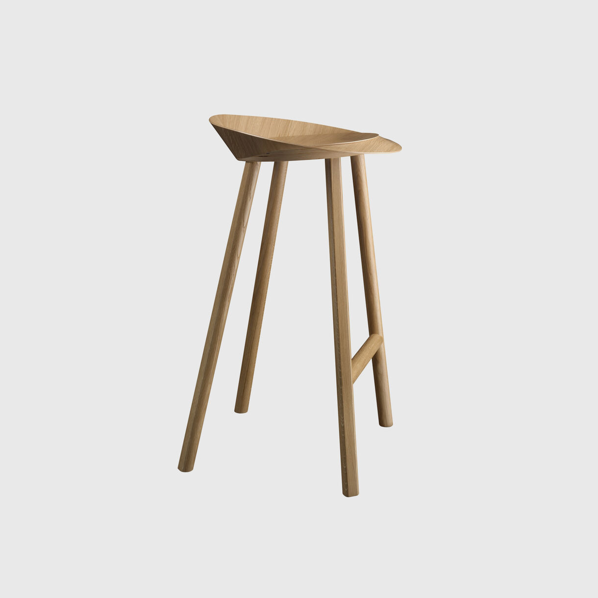 Jean Bar Stool, Oak
