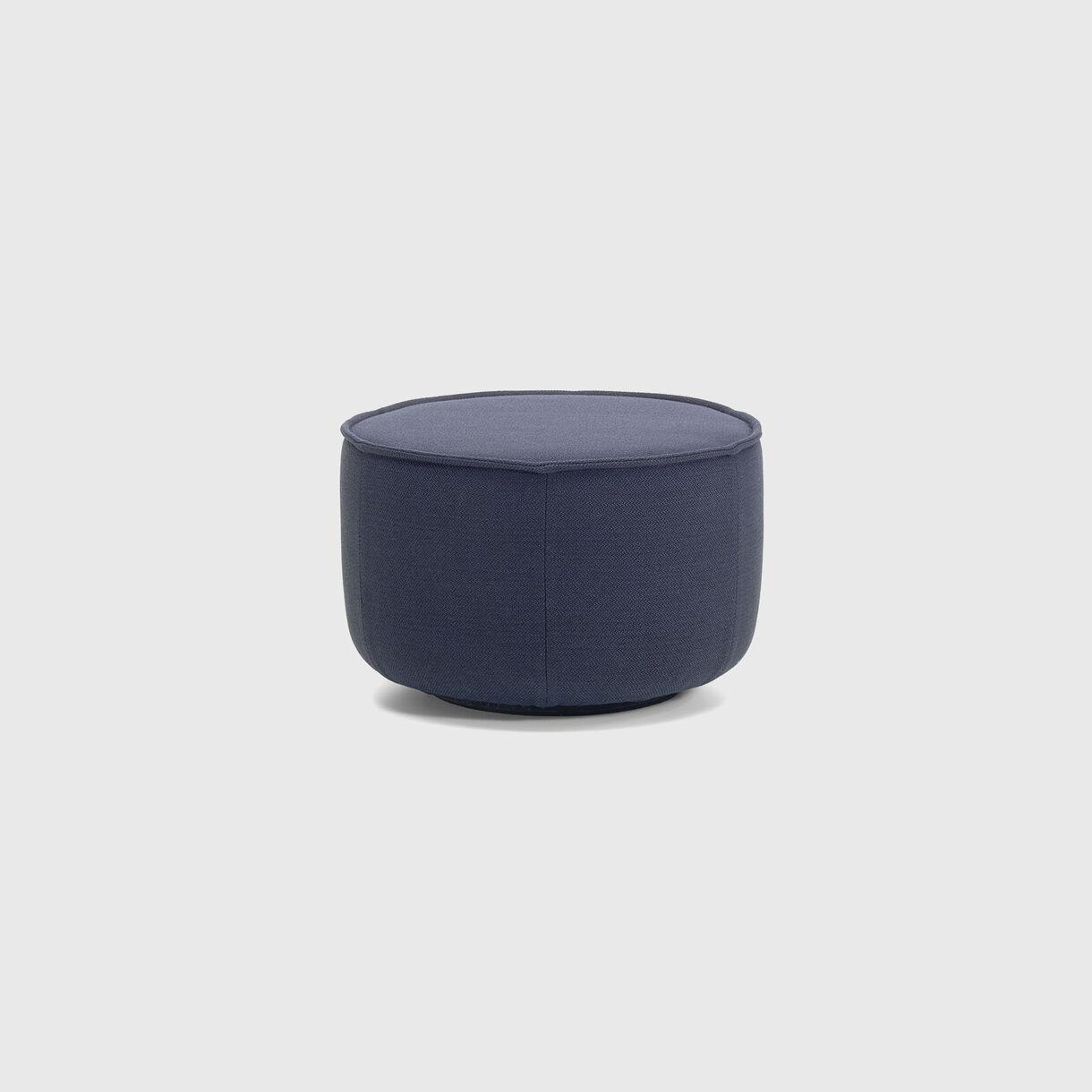 Mariposa Ottoman, Medium, Steel Blue