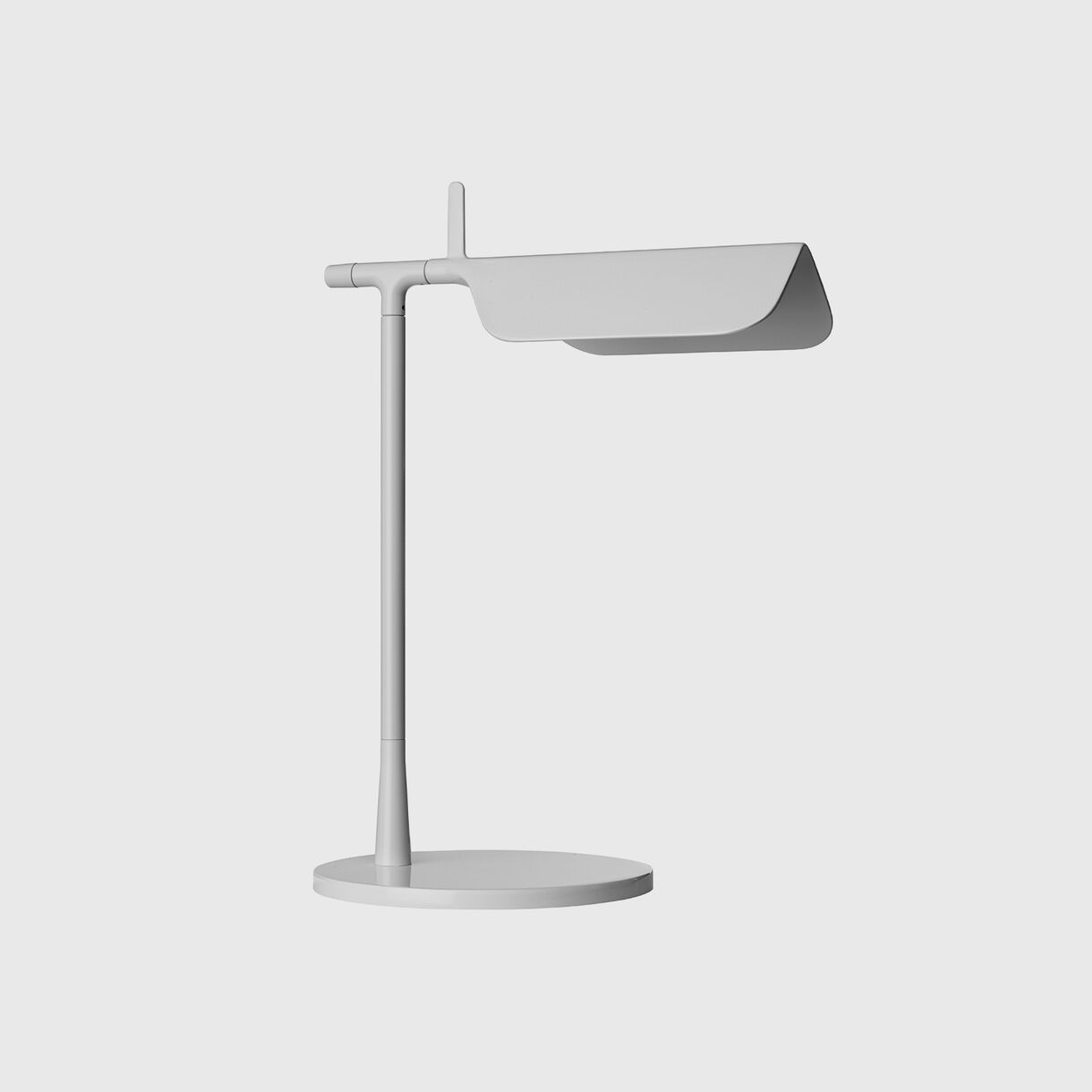 Tab Table Lamp, White, Off