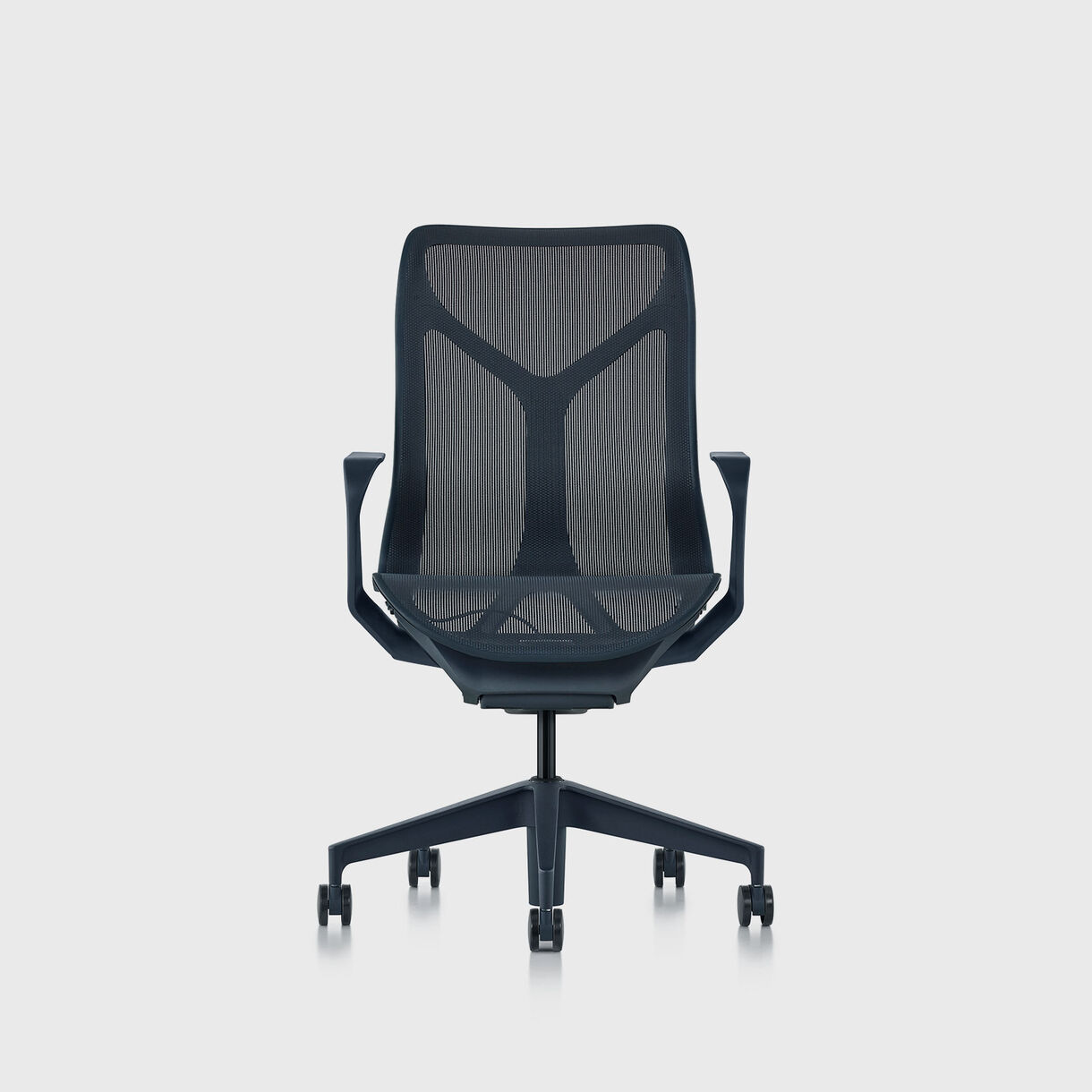 Cosm Chair, Nightfall - Mid Back - Fixed Arms