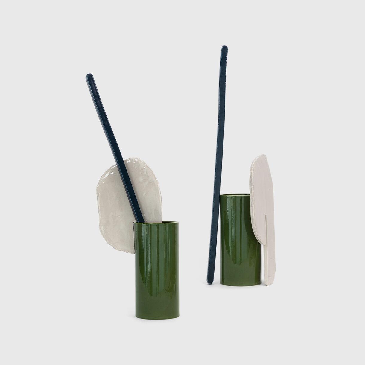 Decoupage Vase, Barre