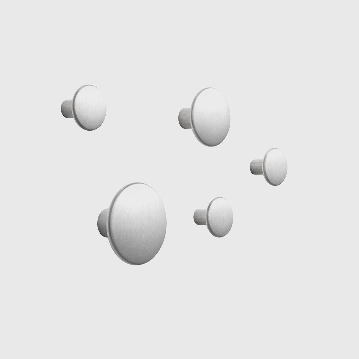 The Dots Metal, Aluminium, Set of 5