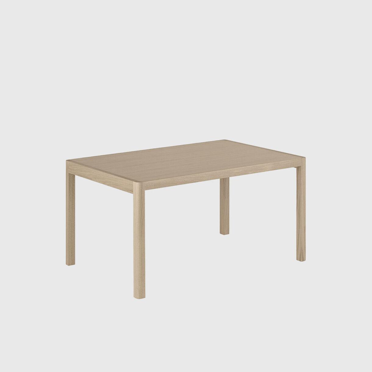 Workshop Dining Table, 1400 x 920, Oak