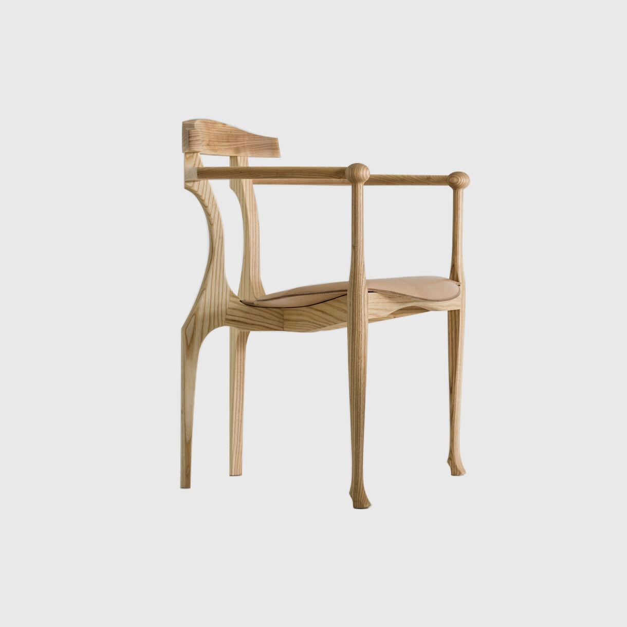 Gaulino Easy Chair, Natural Ash