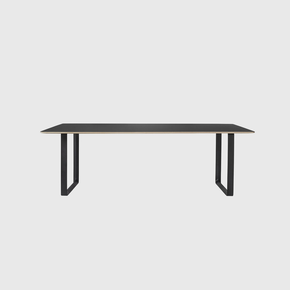 70/70 Table, 2250 x 900, Black