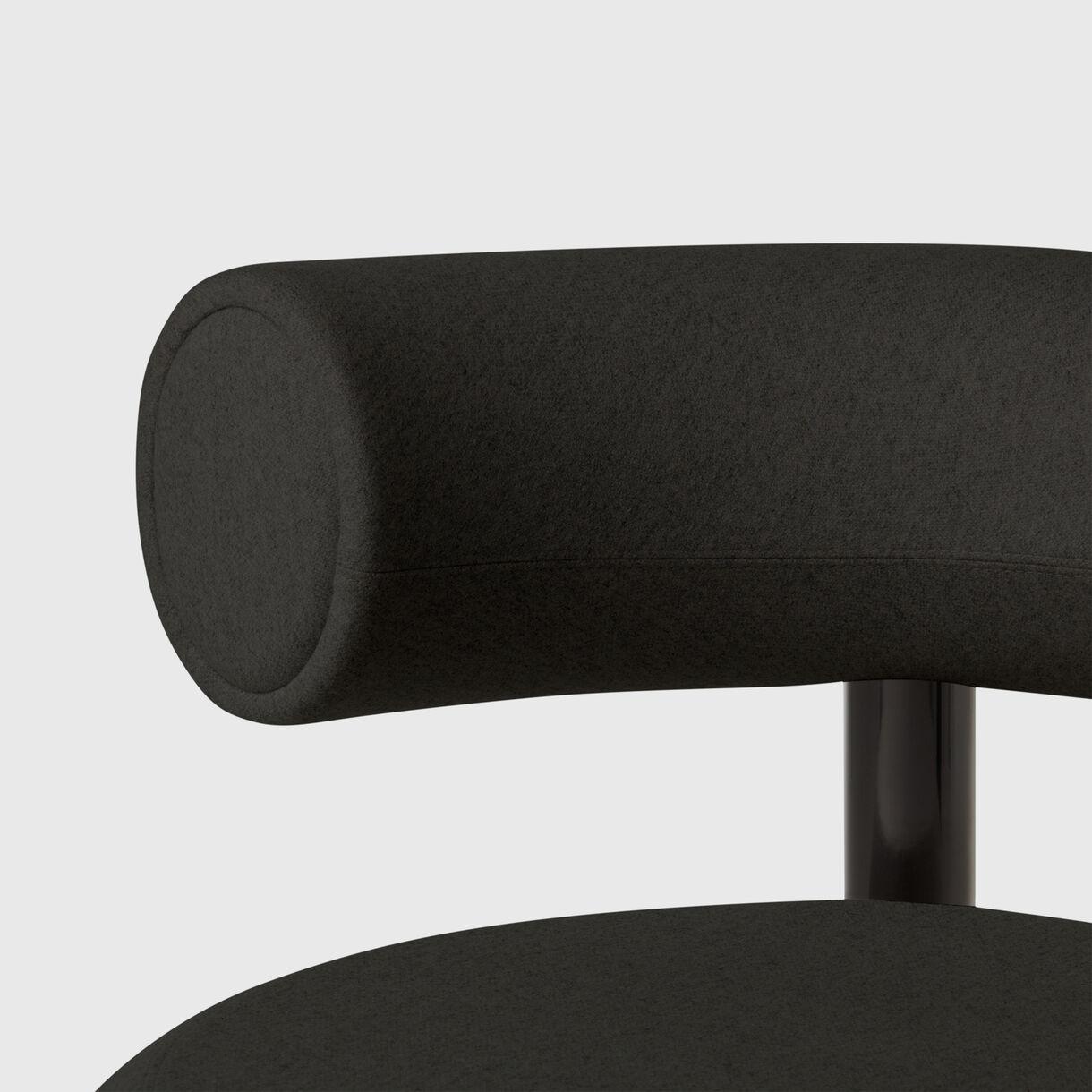 Fat Lounge Chair, Black