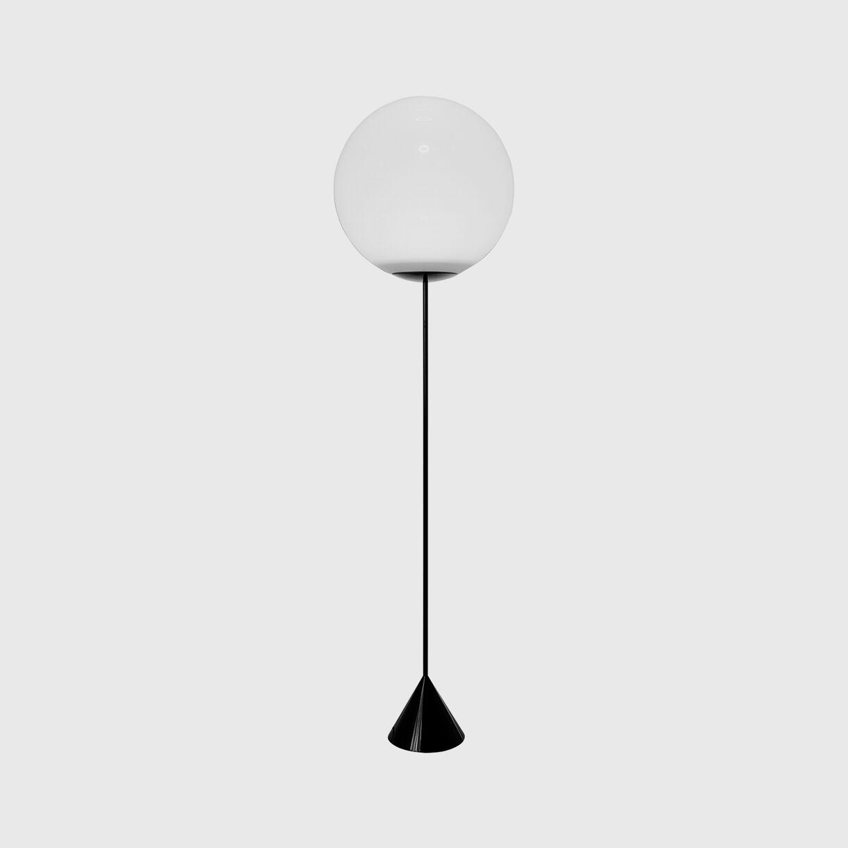 Opal Cone Floor Lamp