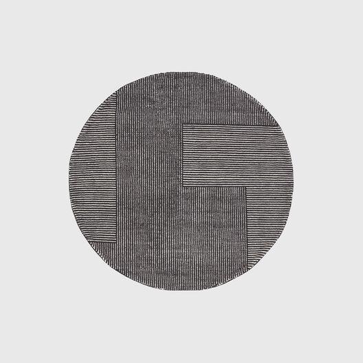 Stripe Rug, Round