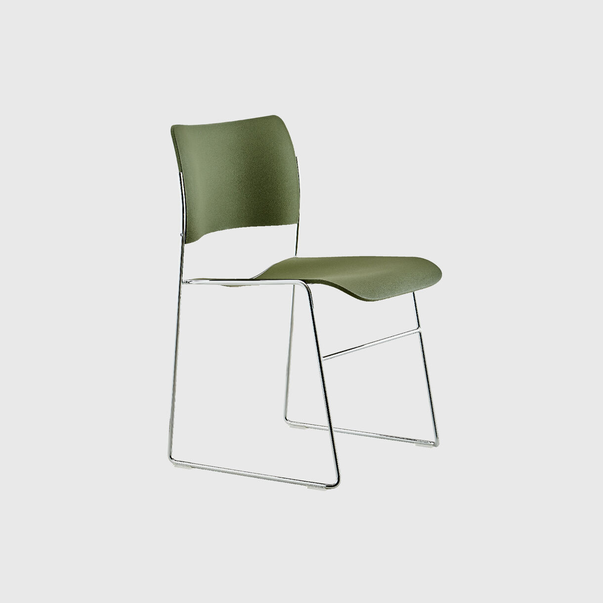 40/4 Side Chair, Olive Green