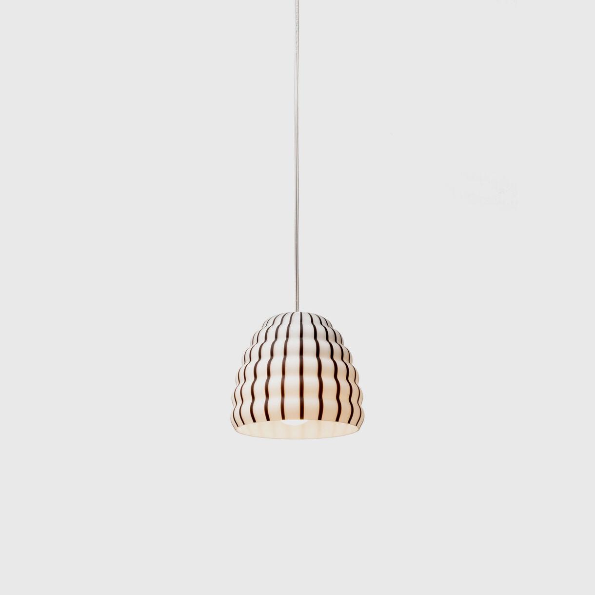 Filigrana Beehive Pendant Lamp, Black