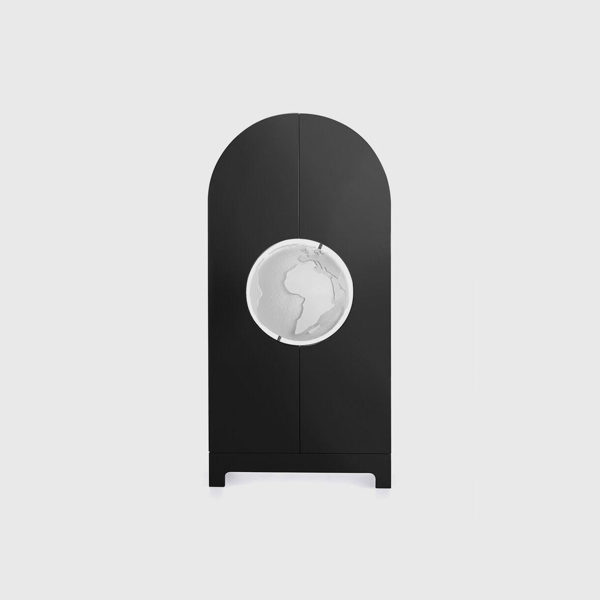 Globe Cabinet, Black