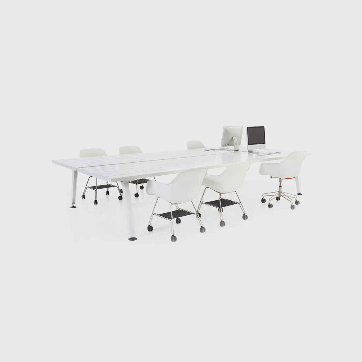 Marina Double Desk & Captains Chairs