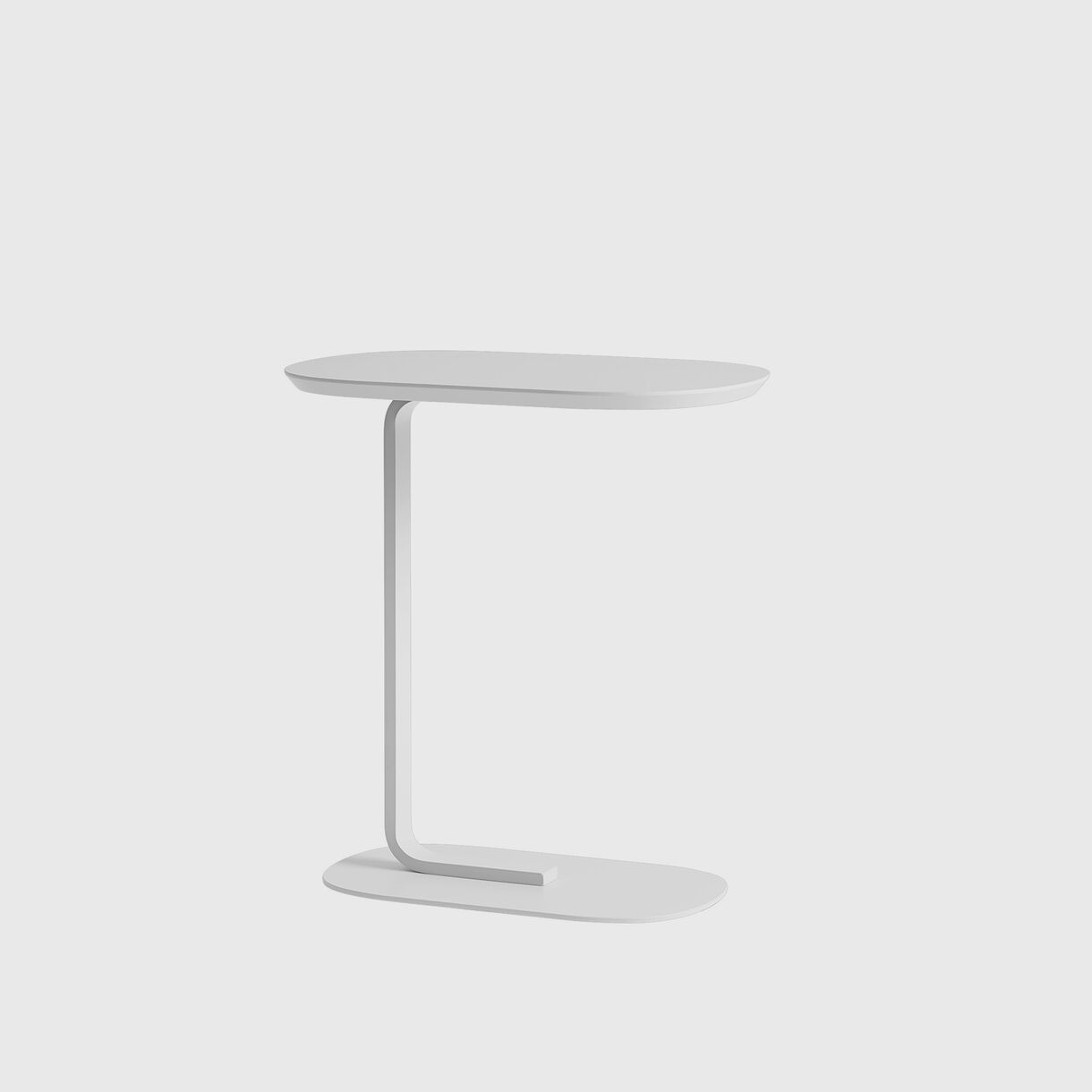 Relate Side Table, White