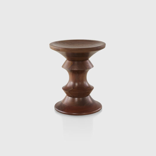 Eames® Walnut Stool