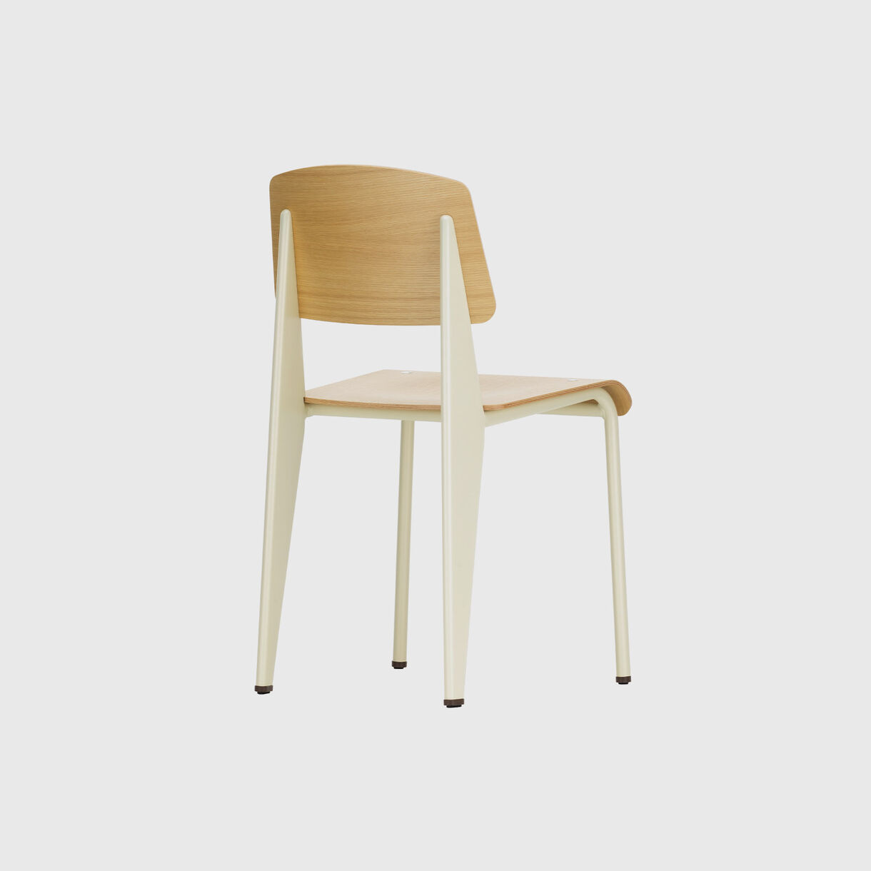 Standard Chair, Ecru & Natural Oak
