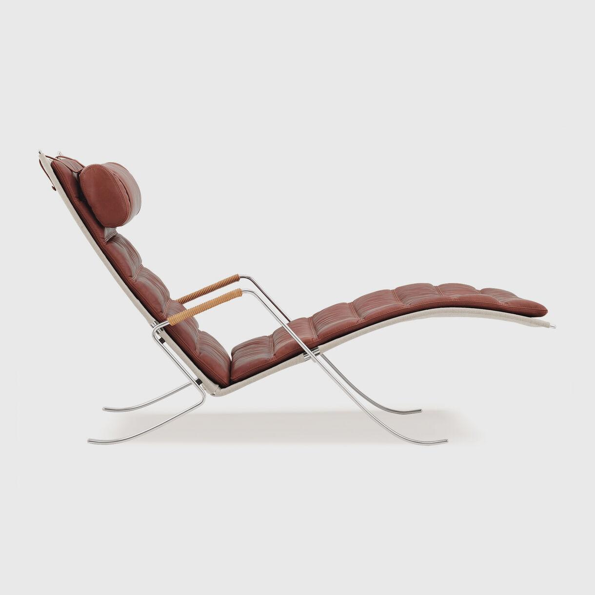 Grasshopper Chair, Cognac Leather
