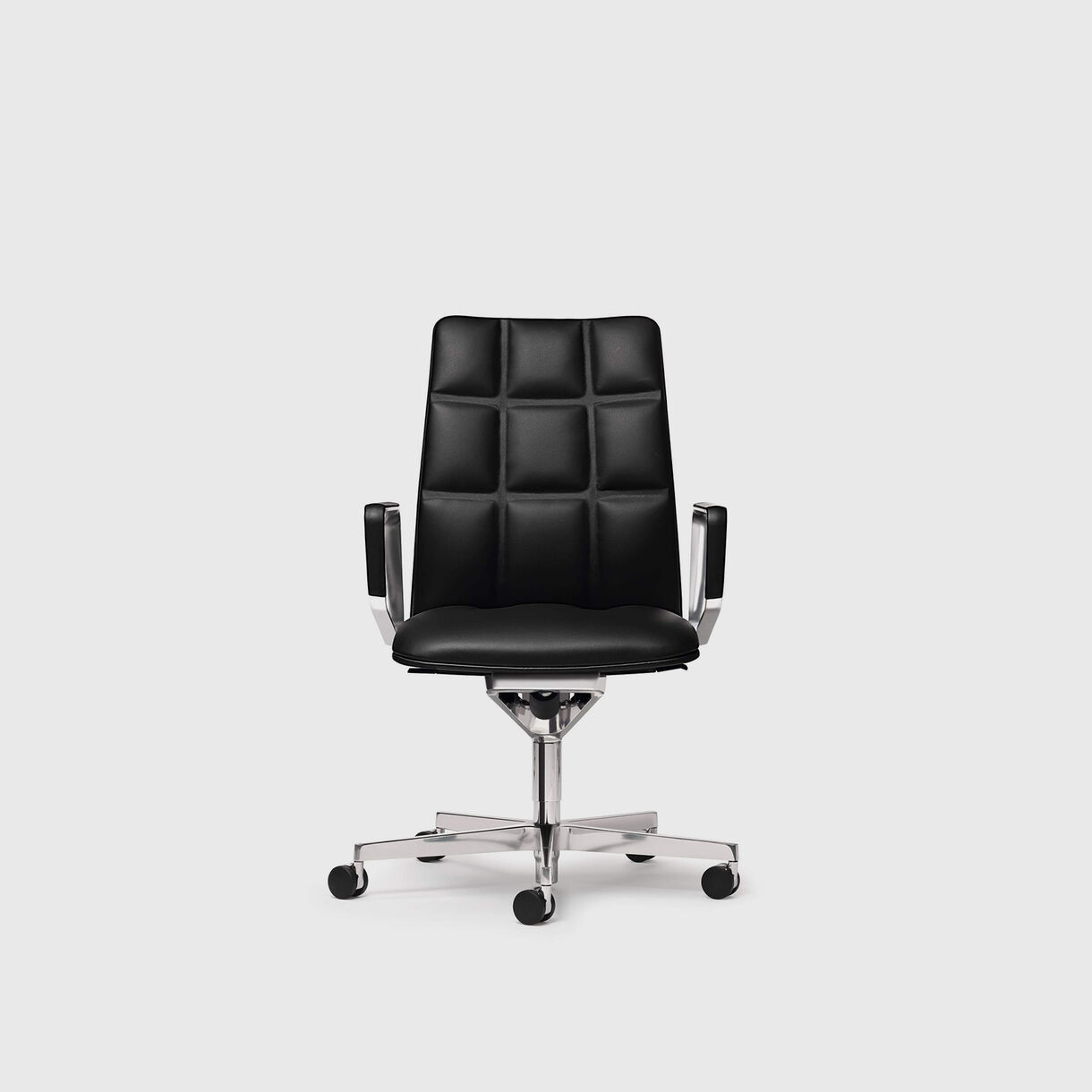 Leadchair Executive, Mid Back, Black