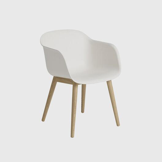 Fiber Armchair, Wood