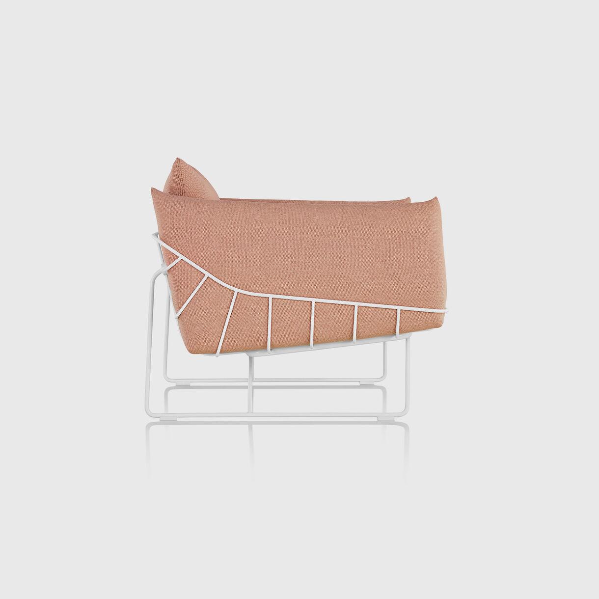 Wireframe Club Chair