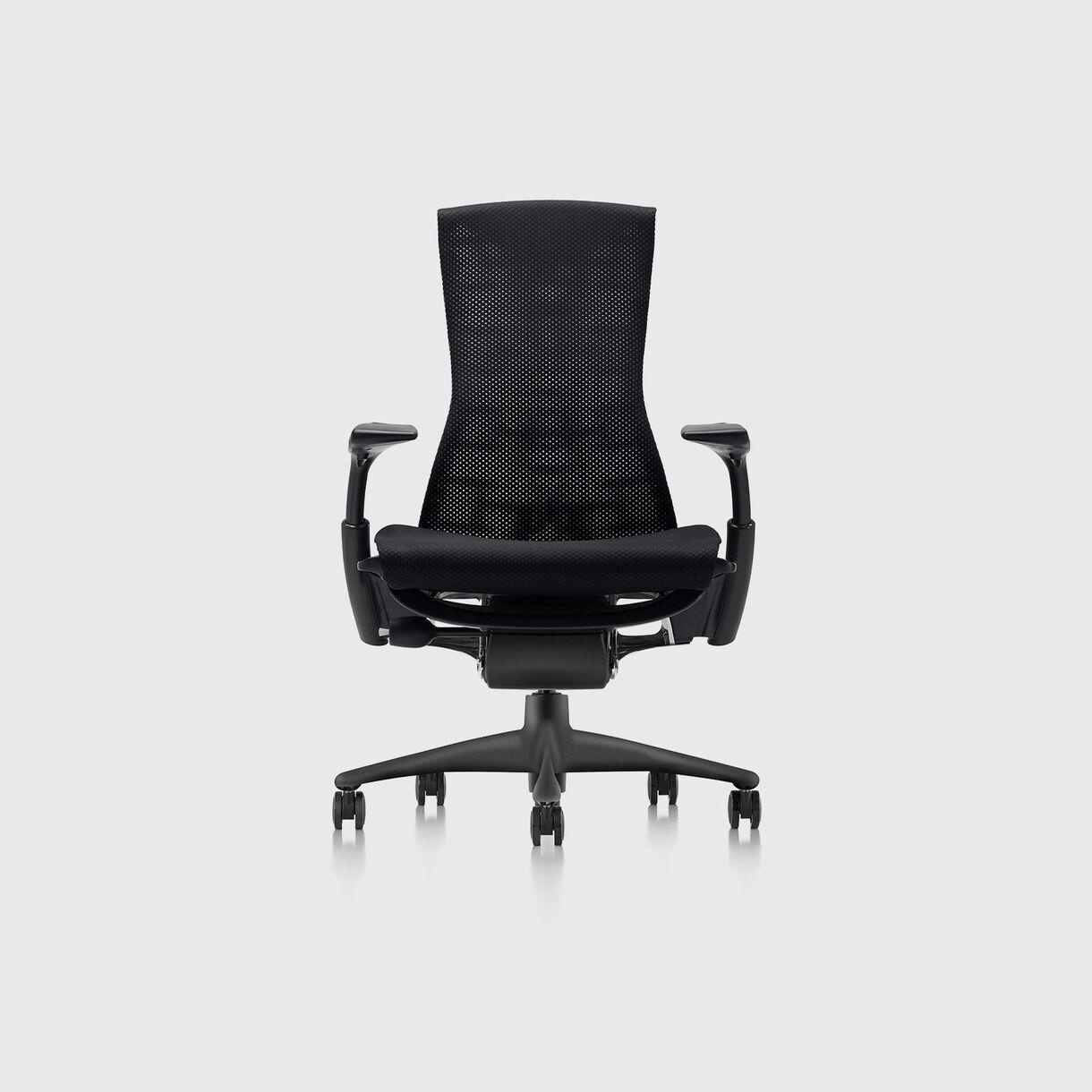 Embody Chair, Rhythm Black with Graphite Base