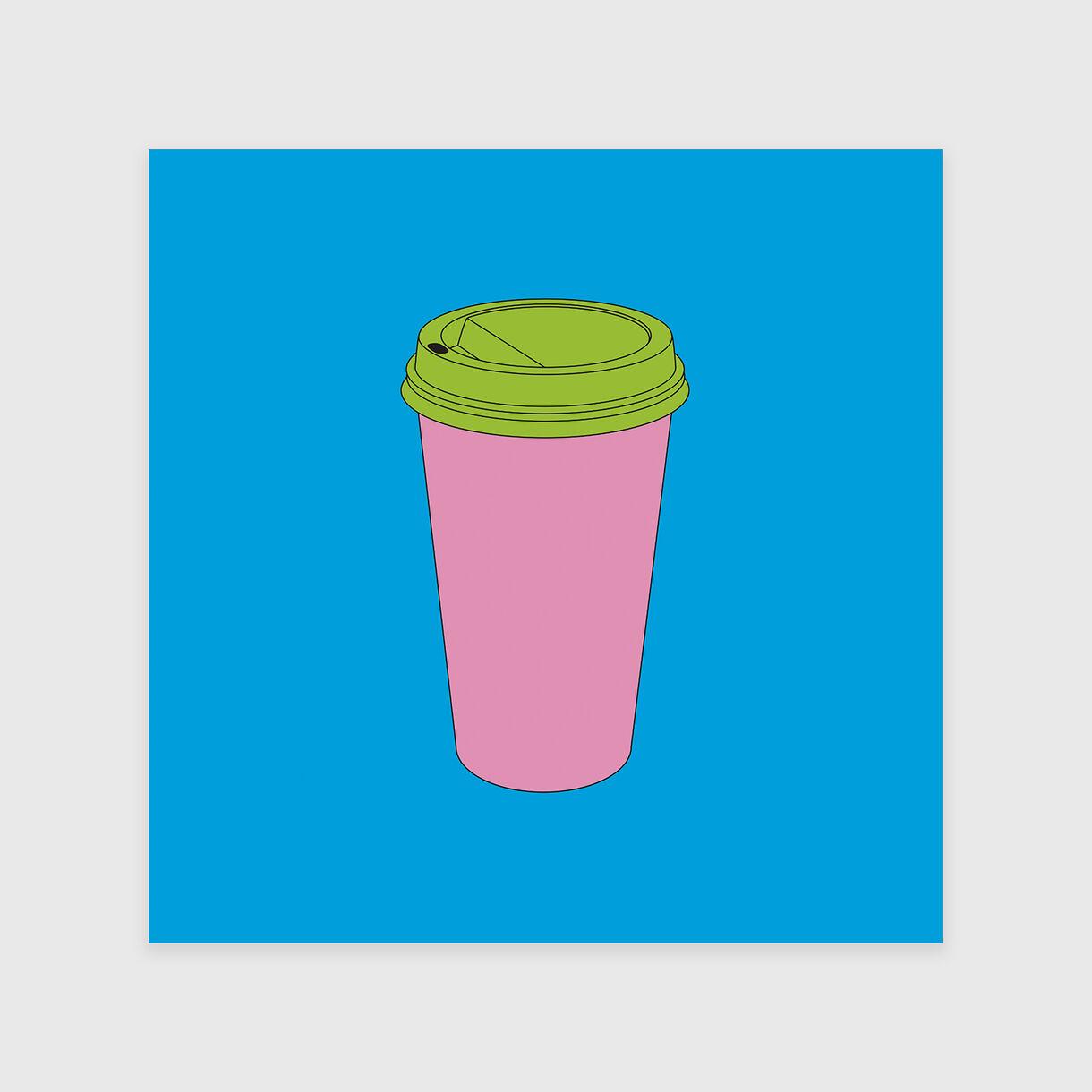 Takeaway Coffee, Michael Craig-Martin