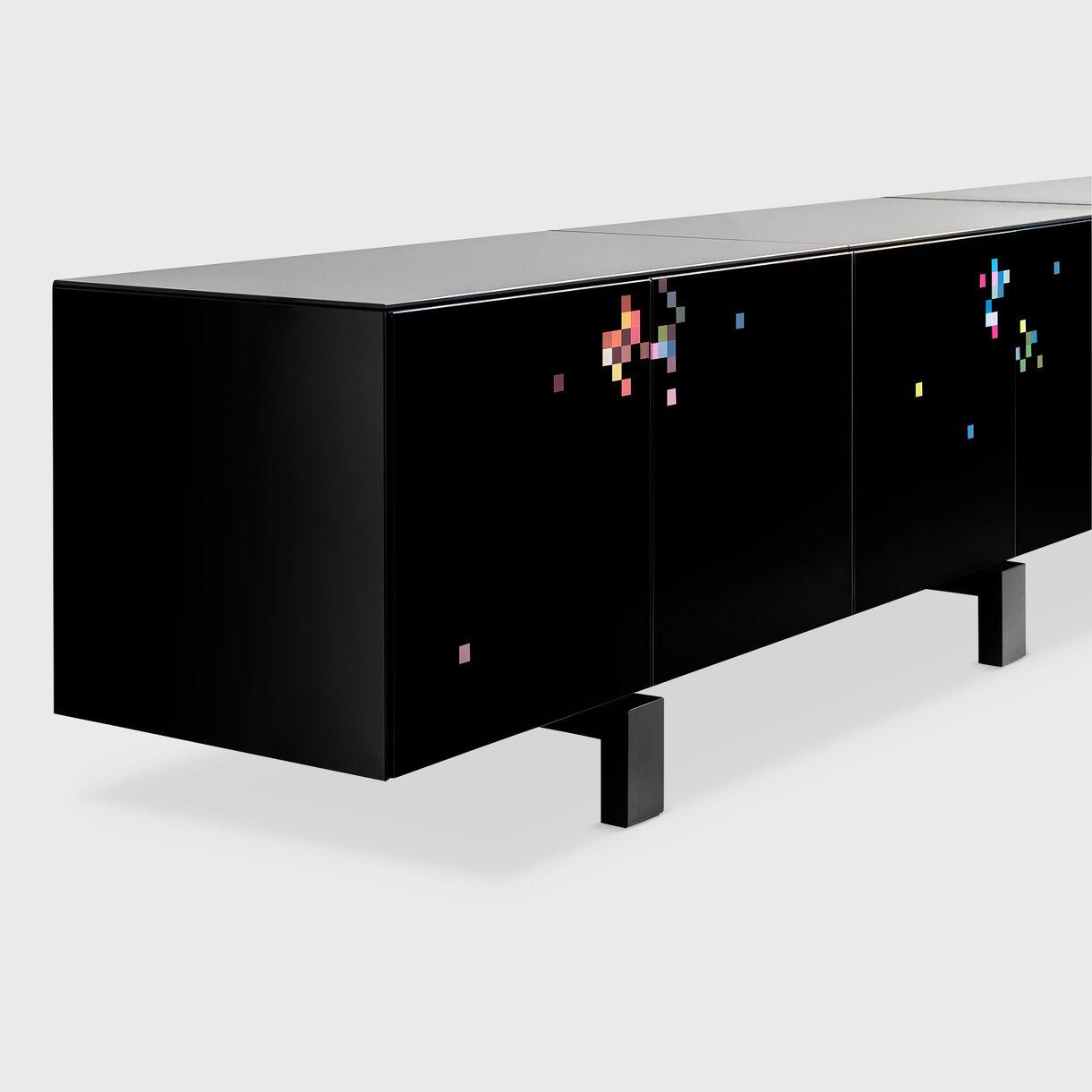 Dreams Cabinet All Black
