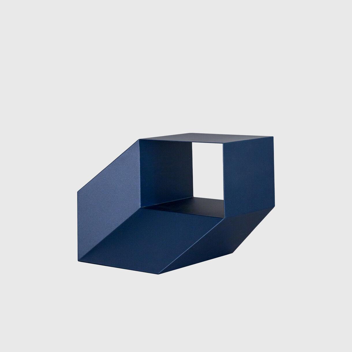 Rocky Side Table, Blue