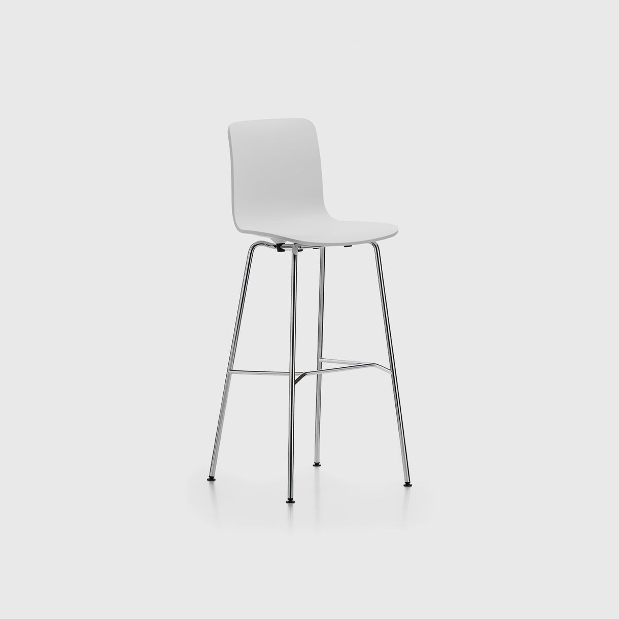 HAL Bar Stool, White