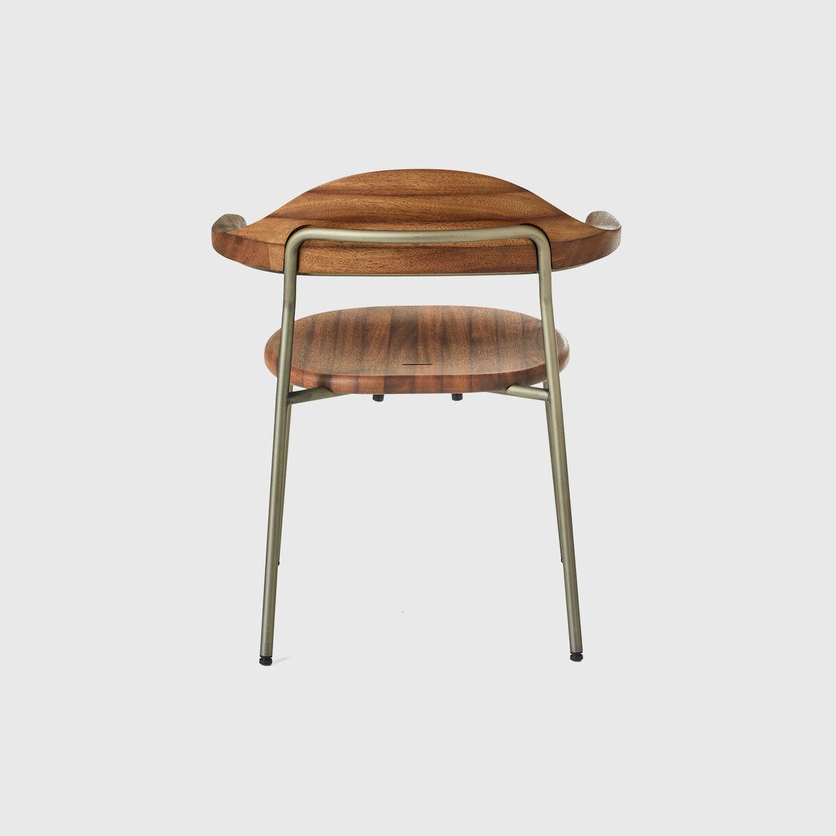 Bicorn Side Chair