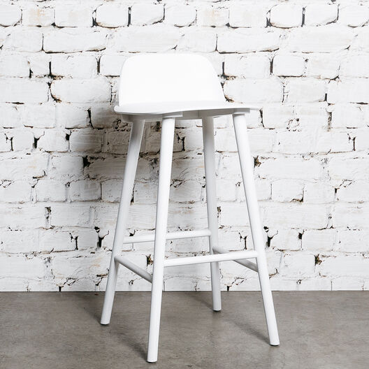 Nerd Bar Stool, White