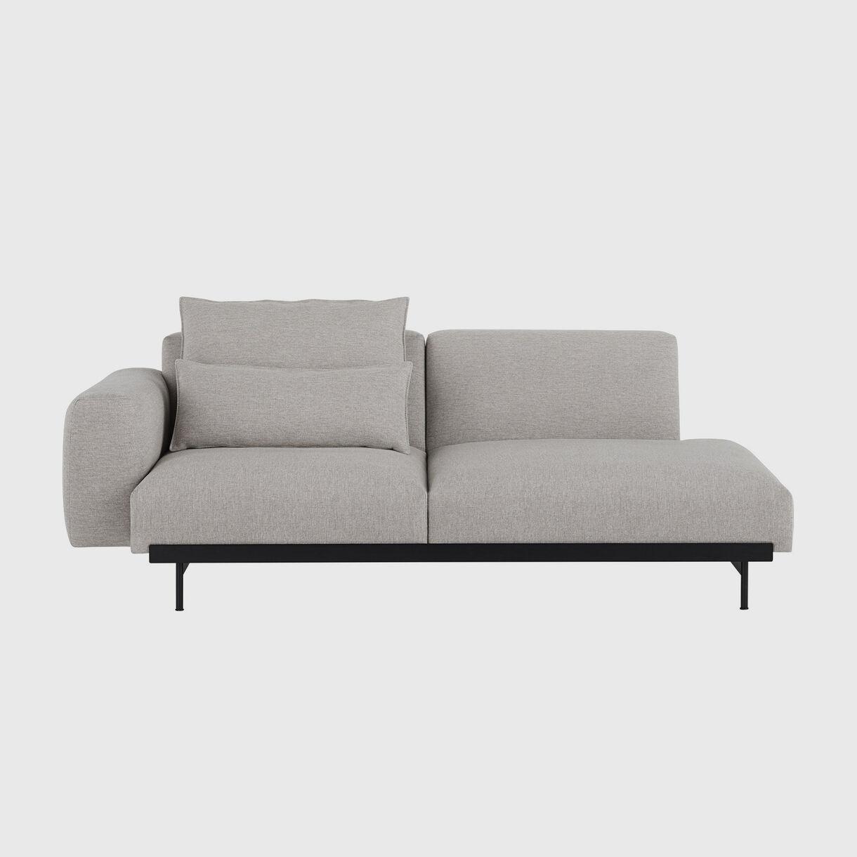 In Situ 2 Seater Sofa, Configuration 3, Clay 12