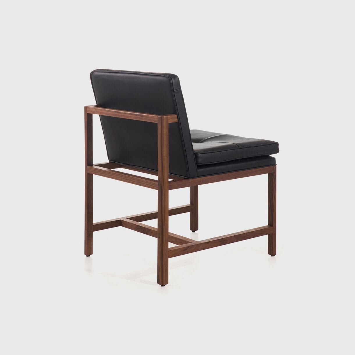 Woodframe Armless Side Chair