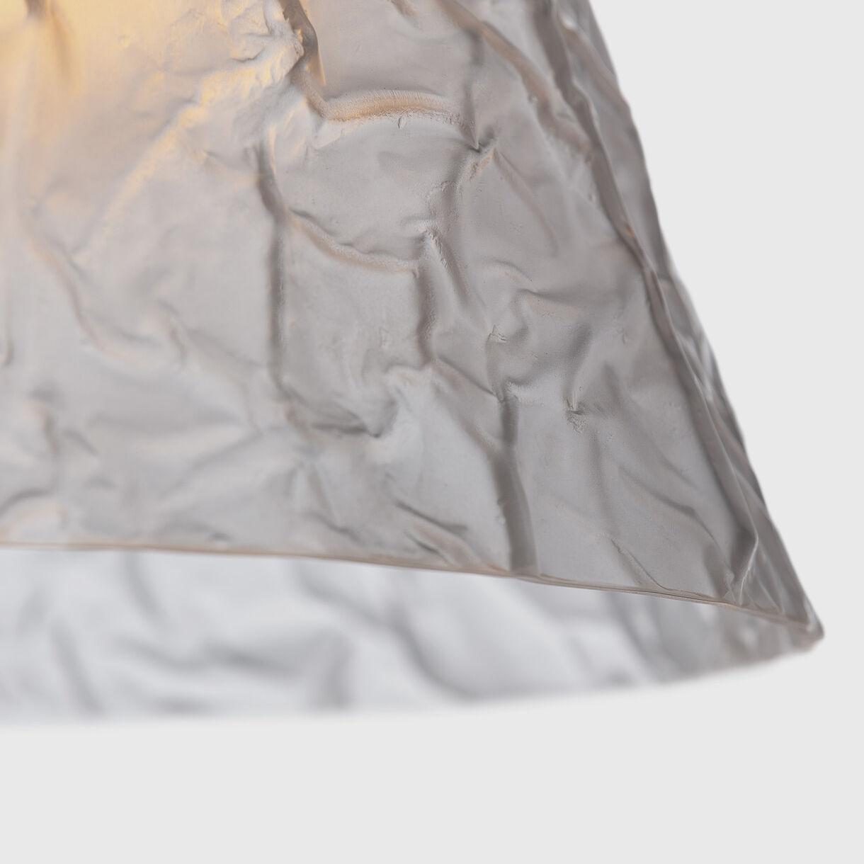 Volcano Pendant, Clear