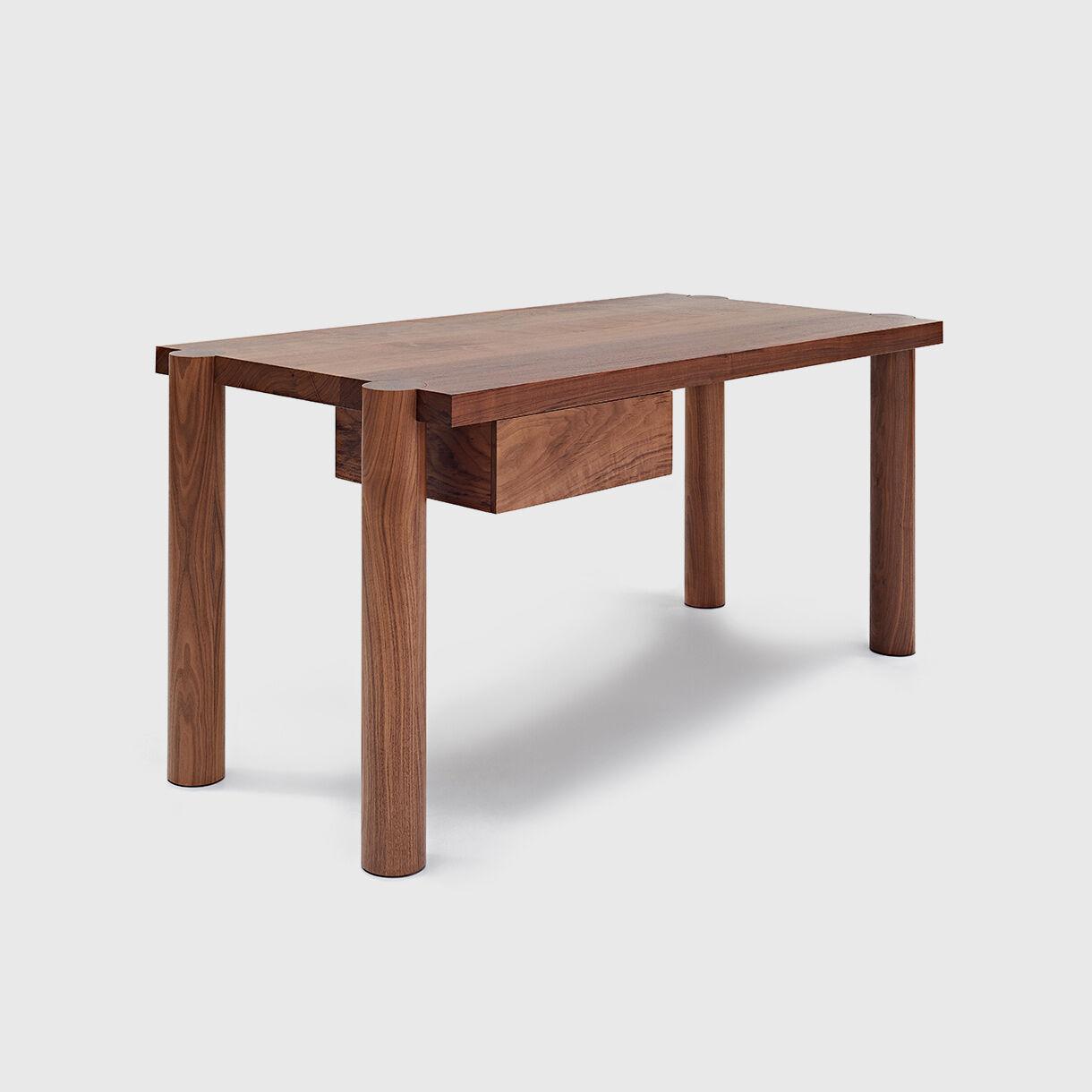 Breadstick Desk, American Black Walnut