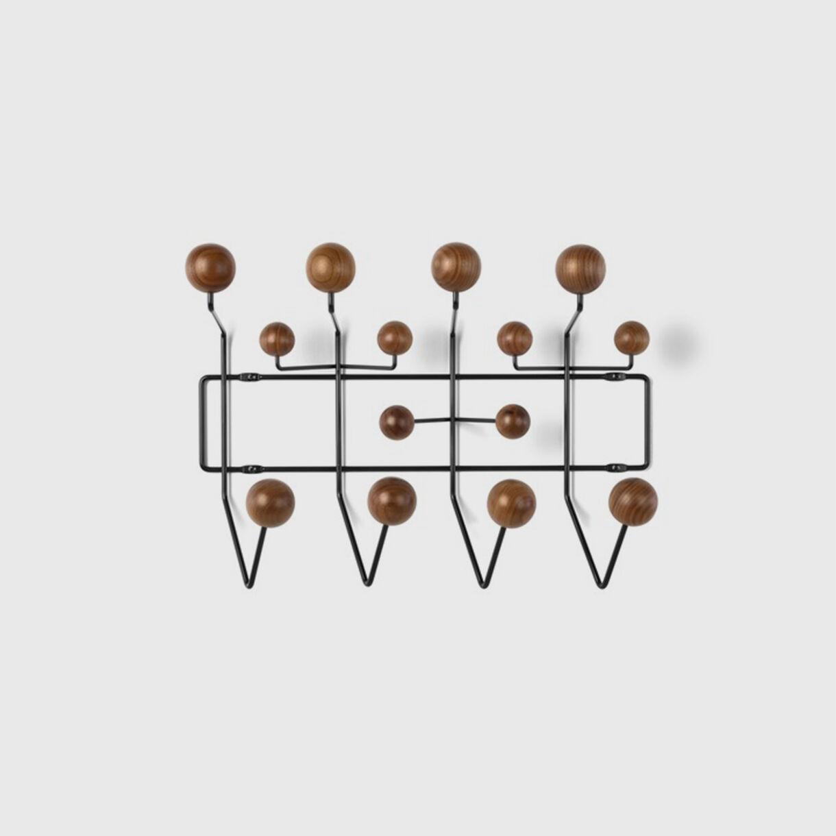 Eames Hang-It-All, Walnut & Black