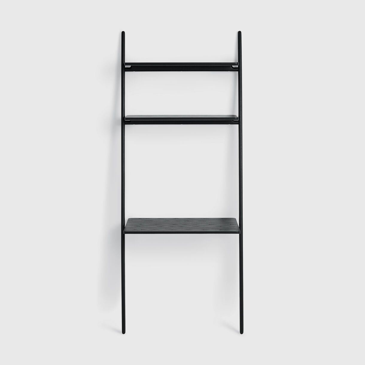 Folk Ladder Desk, Ebonised Ash