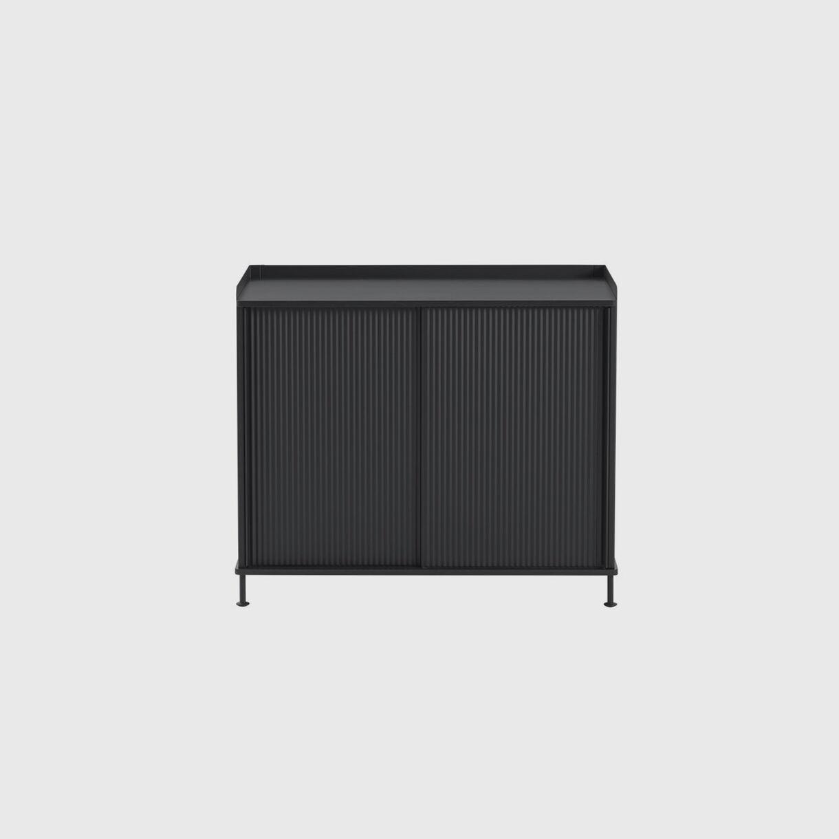 Enfold Sideboard Tall, Black