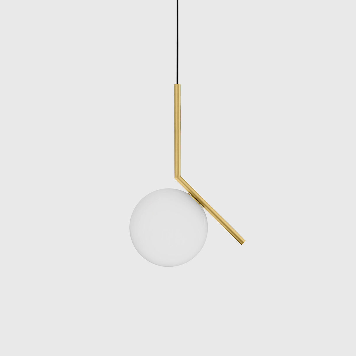 IC Suspension Lamp S1, Brass