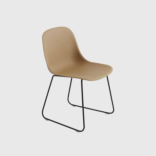 Fiber Side Chair, Sled Base